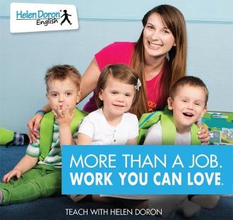 Torne-se um Professor Certificado Helen Doron - os Melhores Professores do Mundo.