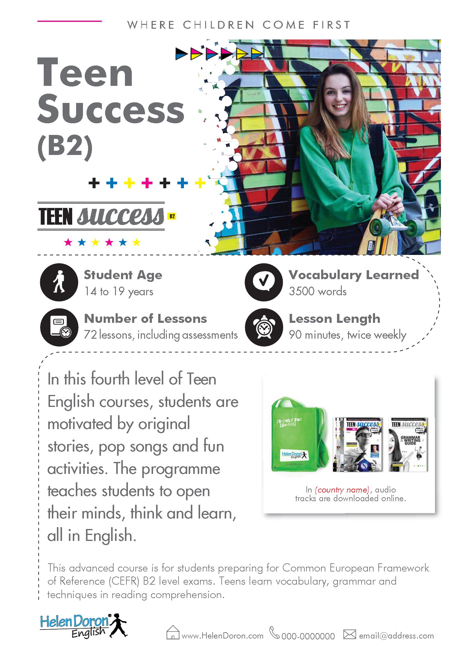 Download - Teen Success (B2)