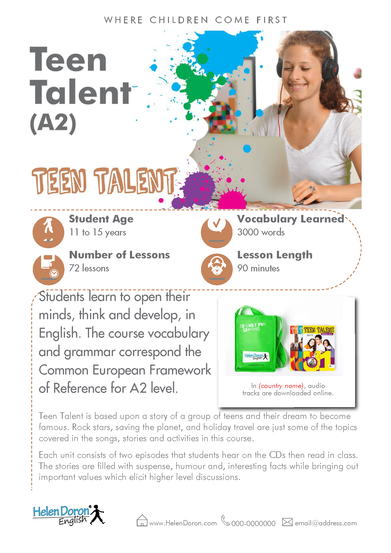 Download - Teen Talent (A2)‎