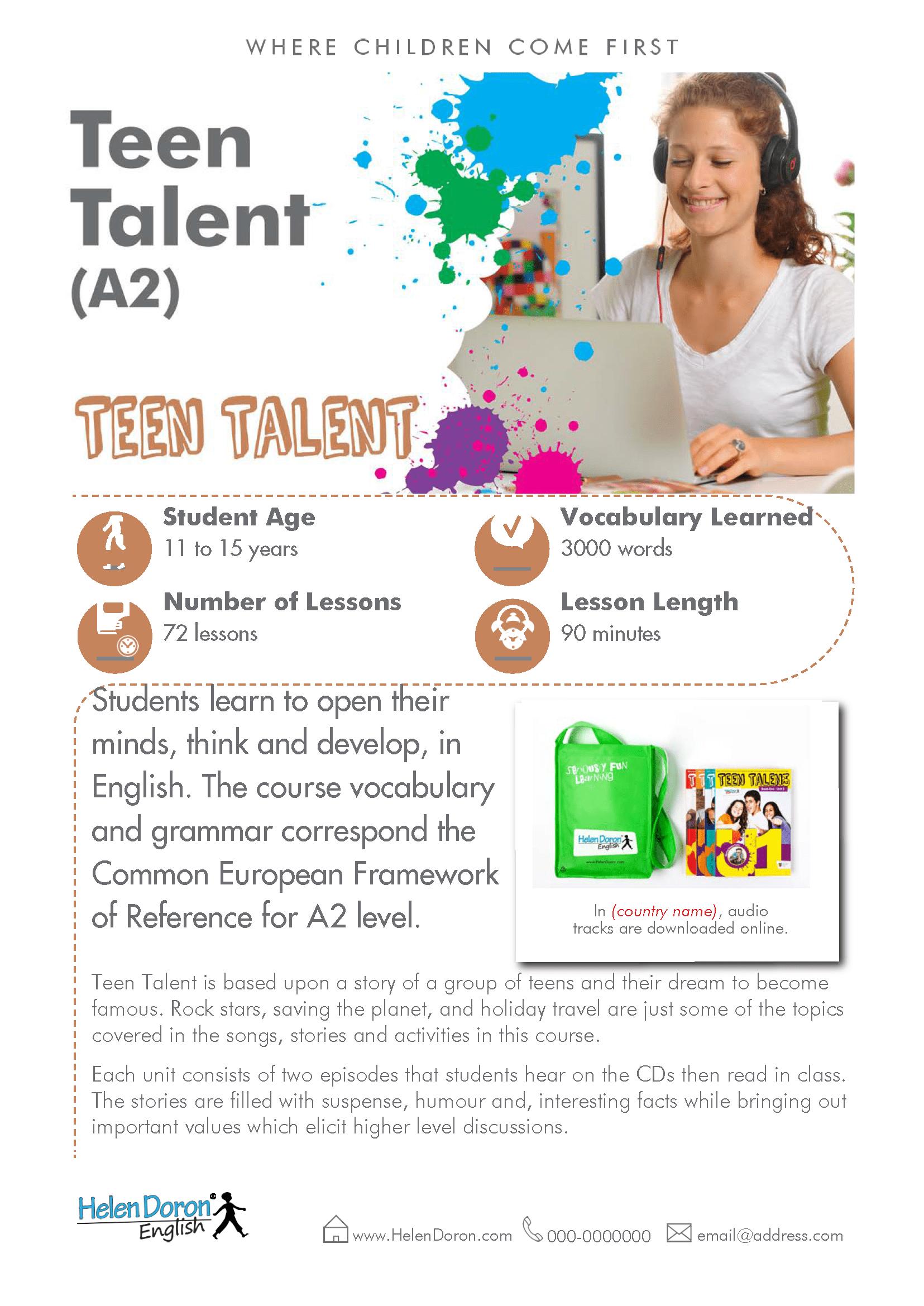 Download - Teen Talent (A2)